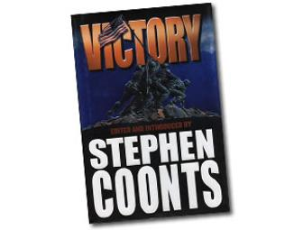 Autographed Hardback Copy of Victory by Stephen Coonts
