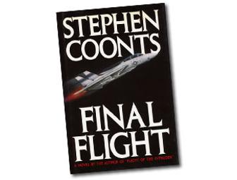 Autographed Hardback Copy of Final Flight by Stephen Coonts