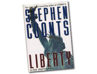 Autographed Hardback Copy of Liberty by Stephen Coonts