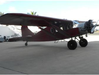 Scenic Hawaiian Flight in 1929 Bellanca PLUS Hawaiian Airlines Miles