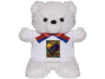 HUGGY ART BEAR for ST JUDE CHILDREN'S RESEARCH HOSPITAL:  'One Love'
