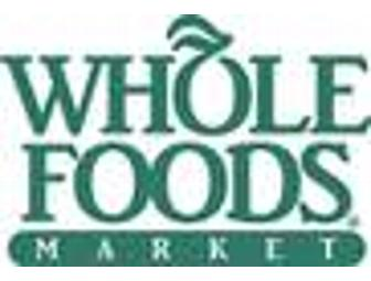 $100 Gift Card - Whole Foods Market/Brighton