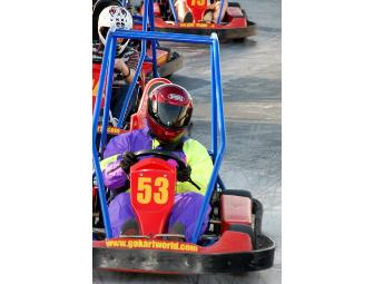 Go Kart World - 6 Free Passes