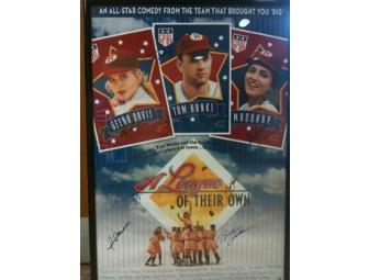 Authentic Signed Movie Poster for 'A League of Their Own'