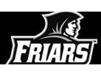 Go Friars Gift Bag with Hockey and Basketball Tickets