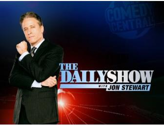 Four VIP Tickets to the Daily Show with Jon Stewart