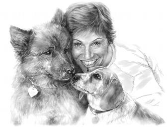 $350 Off Your Portrait Drawing by Nomi Wagner