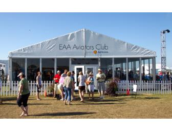 VIP Experience - including AeroClub and Flightline Pavilion for 4 people for 1 day
