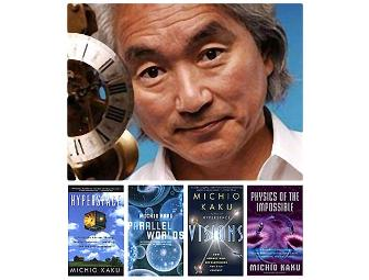 Lunch with Award Winning Physicist Dr. Michio Kaku