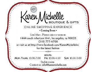 Karen Michelle Women's Boutique in LA - $25 Gift Certificate