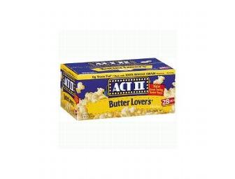 ACT Microwave Popcorn - 18 packs -  from Allan's Vending