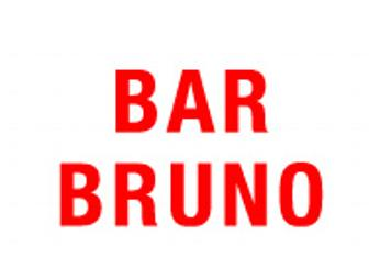 $150 Gift Certificate to Bar Bruno