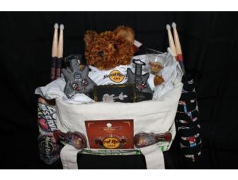 Hard Rock Cafe Gift Basket