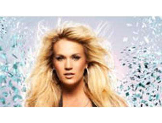 Two Tickets to Carrie Underwood at the Dunkin' Donuts Center with Limo Transportation