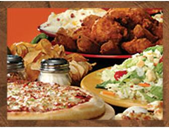 Pizza Ranch Buffet Gift Cards