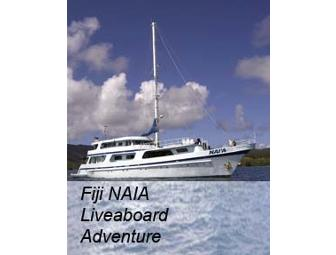 NAI'A Fiji- luxury live-aboard. You Choose Dates in 2013 Subject to Availability (1 space)