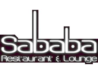 Girl's Night OUT for Eight at Sababa!