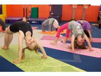 Kids Yoga Jr. Classes (4) at Kidville plus 5 Playspace Passes to Kidville