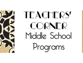 $100 Donation: Middle School Program