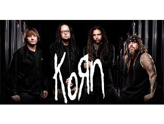 2 GA Concert tickets to WJJO Band Camp July 28 with Korn