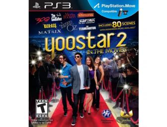 One (1) Copy of Yoostar 2: In The Movies for PS3