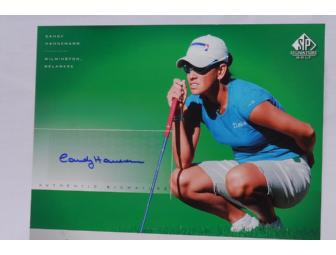 Candy Hannemann - LPGA Player -8x10 Signed Photo