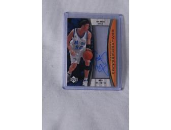 Mike Miller - Autograph Orlando Magic Card
