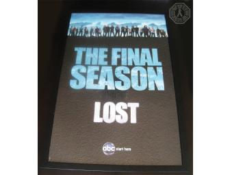 Custom Framed LOST Poster: 'The Final Season'
