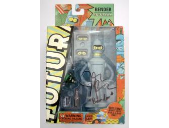 Futurama 'Bender' Action Figure Singed by John DiMaggio