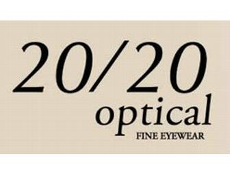 20/20 Optical Gift Certificate