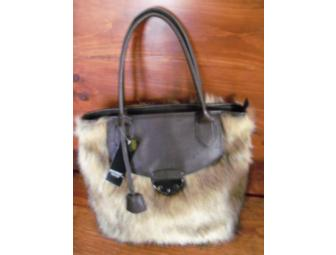 Fur Handbag by Mondani New York