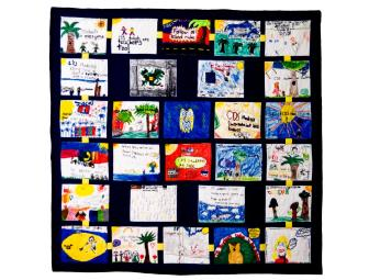 2nd Grade Owls 'Care Chain' Quilt * SILENT *