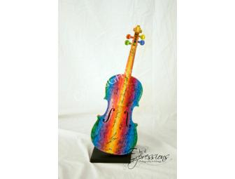 Rainbow of Sound by Artist Molly Light