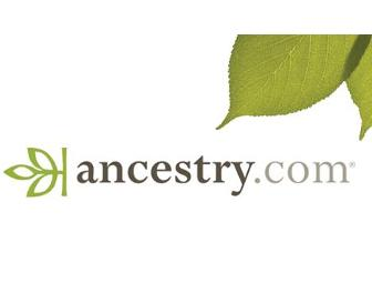 3 Month World Deluxe Ancestry.com Membership