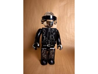 Daft Punk 1000% Kubricks Robots made by Medicom Signed and Decorate by Daft Punk
