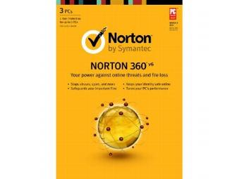 Norton 360 Version 6.0 Premier Edition (3 User)