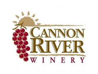 Cheers!  Wine Tasting at Cannon River Winery for 4