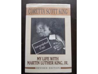 CORETTA SCOTT KING AUTOGRAPHED BOOK