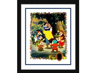Snow White Limited Edition Lithograph Feat. Actual Film Strip Cel