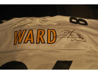 Pittsburgh Steeler Jersey Autographed by Hines Ward