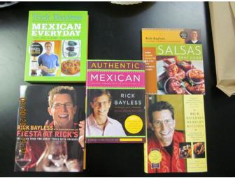 Autographed-Rick Bayless Cookbook; Mexican Everyday