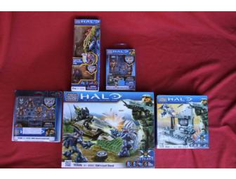 Halo Wars Mega Bloks Assortment