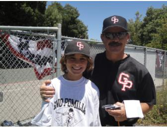 One week of Gino Pomilia Baseball Camp