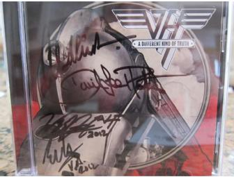 Signed Van Halen CD