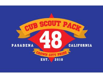 1-yr. Membership to Cub Scout Pack #48
