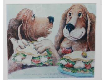 'Do You Have Any Grey Poupon?' 8' x 10' Framed Print by Barbara Jorgen Nance