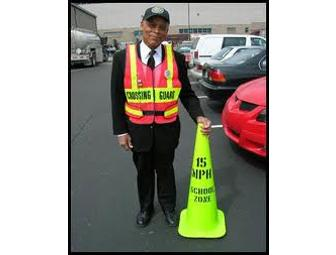 Assistant Crossing Guard For The Day