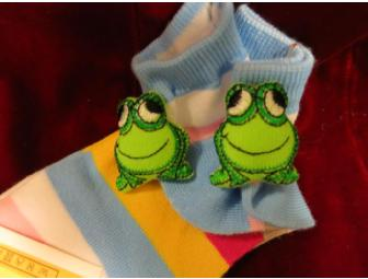 Adorable children's butterfly socks!
