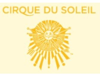 Cirque du Soleil Show Anywhere in the World- 4 Tickets