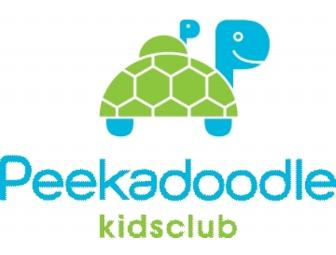 3 Month Family Membership to Peekadoodle Kids Club